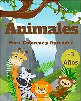 Animales Para Colorear y Aprender: Todo en uno unir puntos números, formas, letras, laberinto, Juego de mesa y actividades divertidas para el desarrollo motor de los niños: Amazon.es: LLC, A & P
