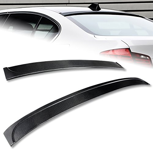 2011-2016 BMW F10/F18 5-Series M5 Real Carbon Fiber Rear Roof Spoiler Wing
