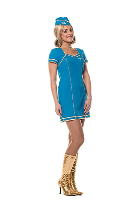 Amazon.com: Britney Spears Air Hostess Toxic Style Fancy Dress ...