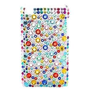 siete colores del diamante estilo de caso para itouch 4