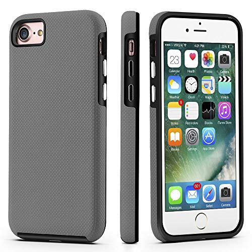 CellEver Dual Guard Protective Cover Compatible with iPhone SE 2020 Case/iPhone 7 Case/iPhone 8 Case, Shock-Absorbing…