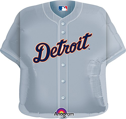 Anagram International Detroit Tigers Jersey Flat Party Balloons, 24