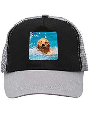 Unisex Laugh Dog Shiba Inu Puppy Adjustable Classic Hiphop Hat Baseball Cap Snapback Dad Hat