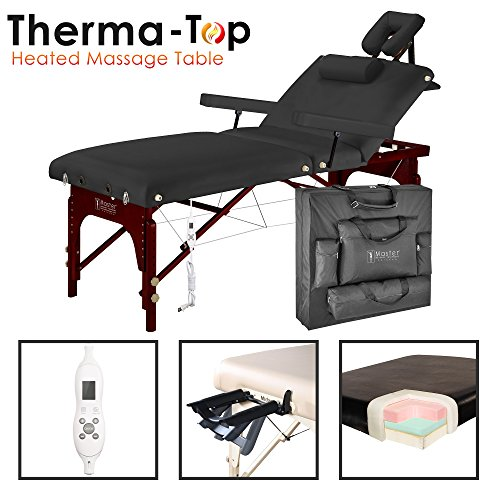 "Master 31"" Montclair Salon Therma-Top Portable Massage Table Package"