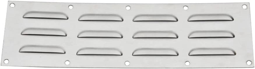 """Stanbroil Stainless Steel Venting Panel for Grill Accessory, 15"""" by 4-1/2"""""""