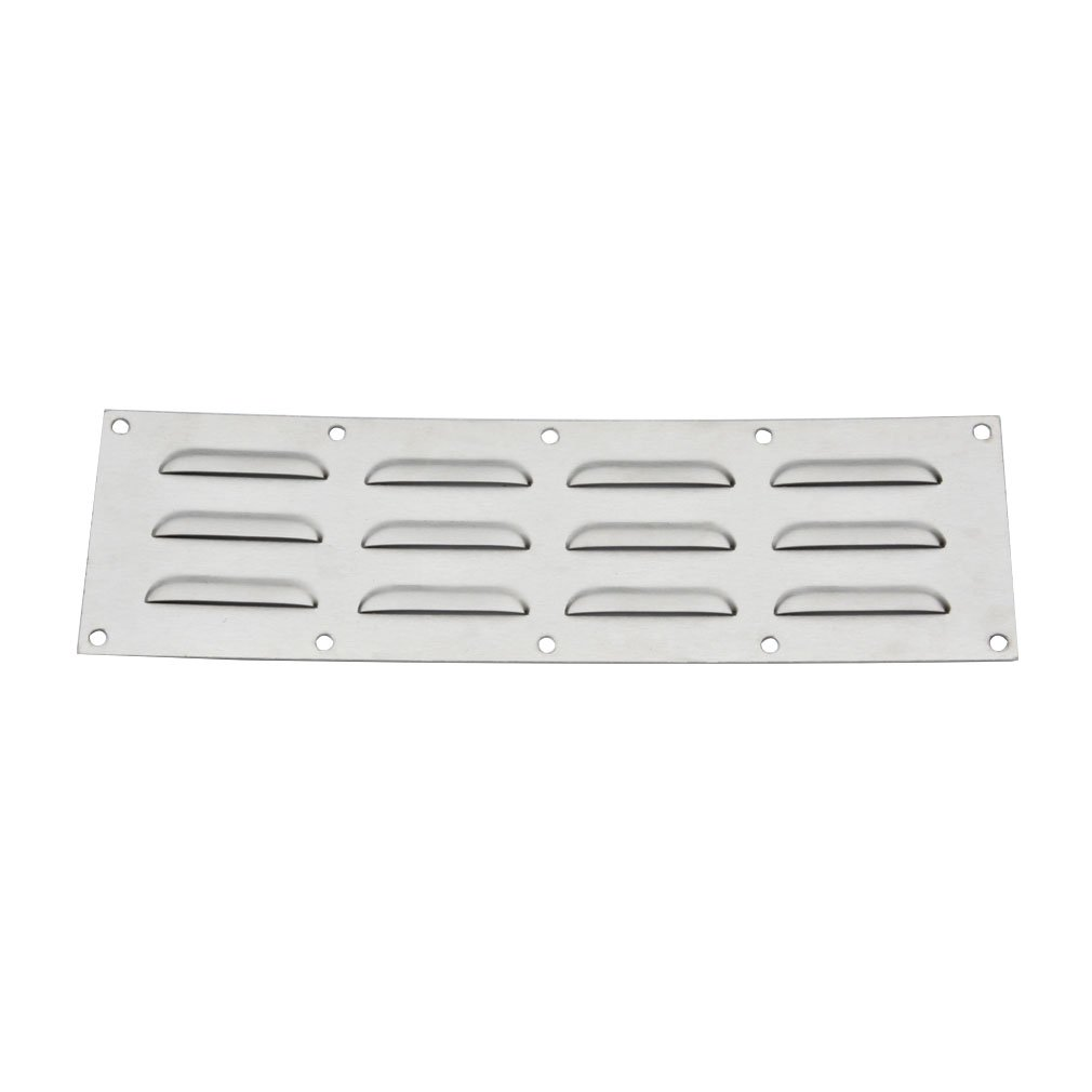 Stanbroil Stainless Steel Venting Panel for Grill Accessory, 15'' by 4-1/2''