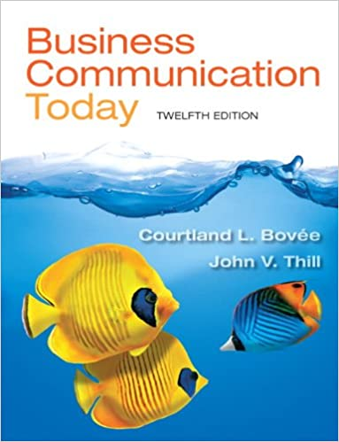 Business communication today 12th edition 9780132971294 business business communication today 12th edition 12th edition fandeluxe Choice Image