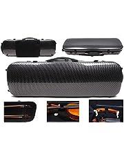 4/4 New violin Case Carbon fiber Fiberglass Oblong case Strong Light Full size music Sheet Bag