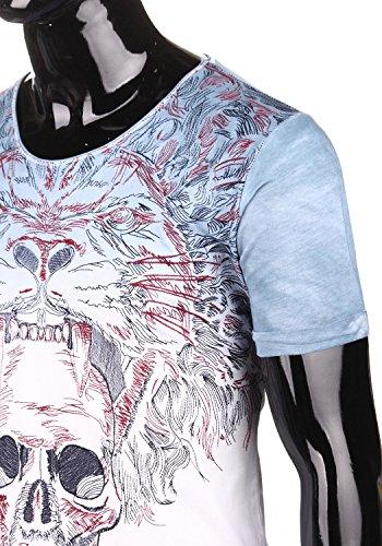 Red Bridge Herren T-Shirt Totenkopf Eyecatcher 1077