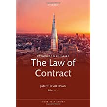 O'Sullivan and Hilliard's The Law of Contract