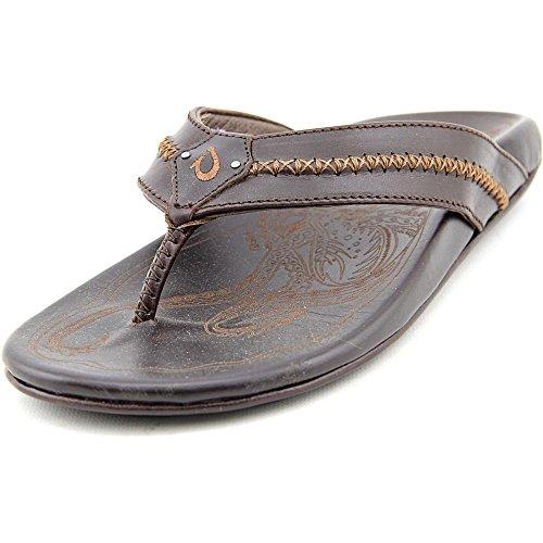 Olukai Men's Mea Ola Sandal Dark Java Size 13 by OluKai