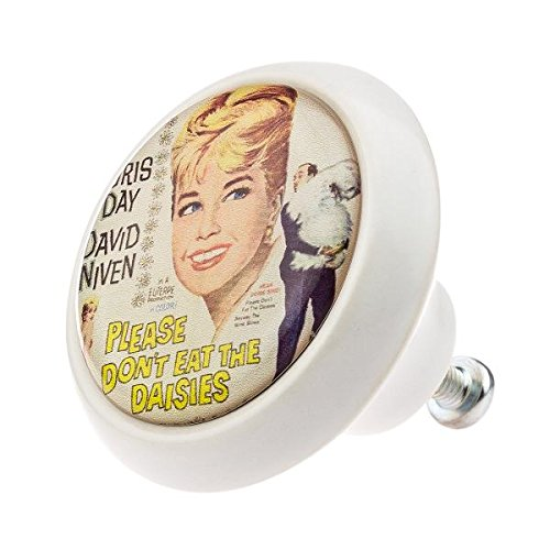 Vintage Nostalgie 00968W Classics Cé ramique Bouton de meuble poigné es de porte de dé coration inté rieure shabby chic nostalgie vintage en porcelaine commode tiroir Boutons de meuble en gros