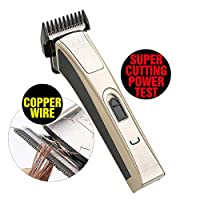 KIKI NEW GAIN Professional Cordless Rechargeable Hair Clippers Super Cutting Power Full Head Balding Clipper Hair Trimmer Electric Head shaver T-shape Blade Barber Clippers kids clipper