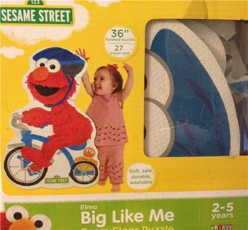 Sesame Street Floor Puzzle Packaging