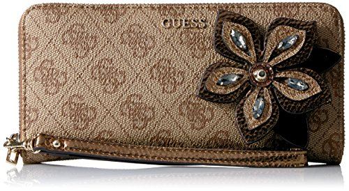 GUESS Sibyl Logo Large Zip Around
