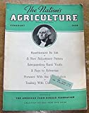 img - for The Nation's Agriculture for February, 1936 (Resettlement, Safeguarding Rural Youth, Congress from the Inside, Trading With Our Neighbor) book / textbook / text book