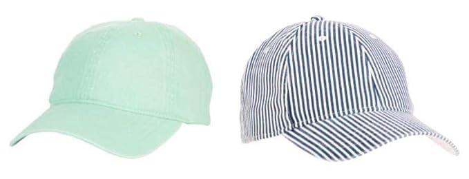 ddb28cf2d Amazon.com: C3 Store Pair of Women's Golf caps, Sea Grean & Blue ...