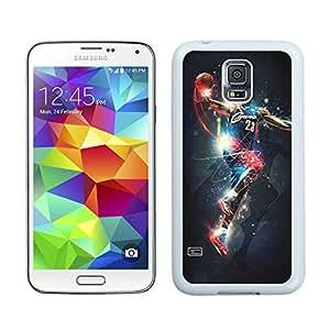 New Custom Design Cover Case For Samsung Galaxy S5 I9600 G900a G900v G900p G900t G900w Cleveland Cavaliers Lebron James 14 White Phone Case