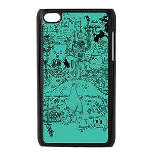 iPod Touch 4 Case Black FANTASTIC MESS LV7925447