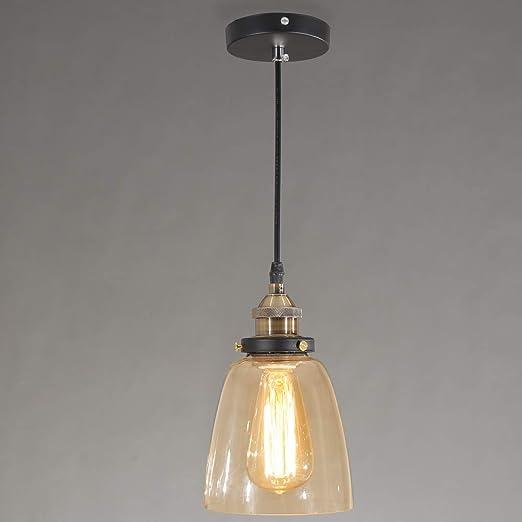 Lámpara de araña retro clásica, lámpara colgante, lámpara de ...