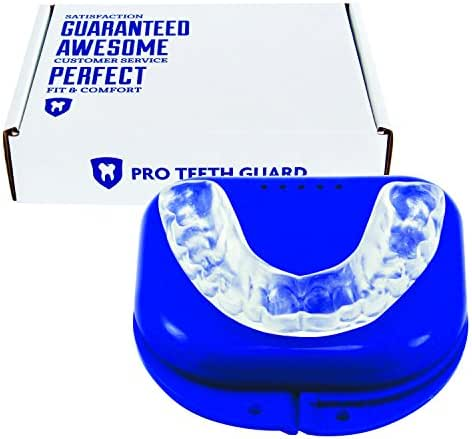 Custom Dental Night Guard for Teeth Grinding - Pro Teeth Guard. 110% Money Back Guarantee. Size: Adult-Male.