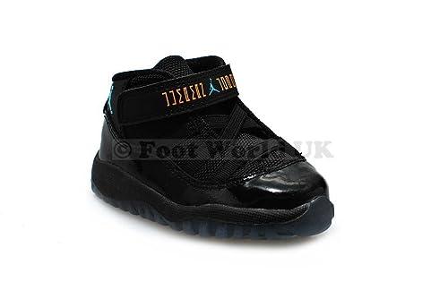 premium selection a8917 6855b Amazon.com   Jordan 11 Retro Toddler Gamma Blue   Sneakers