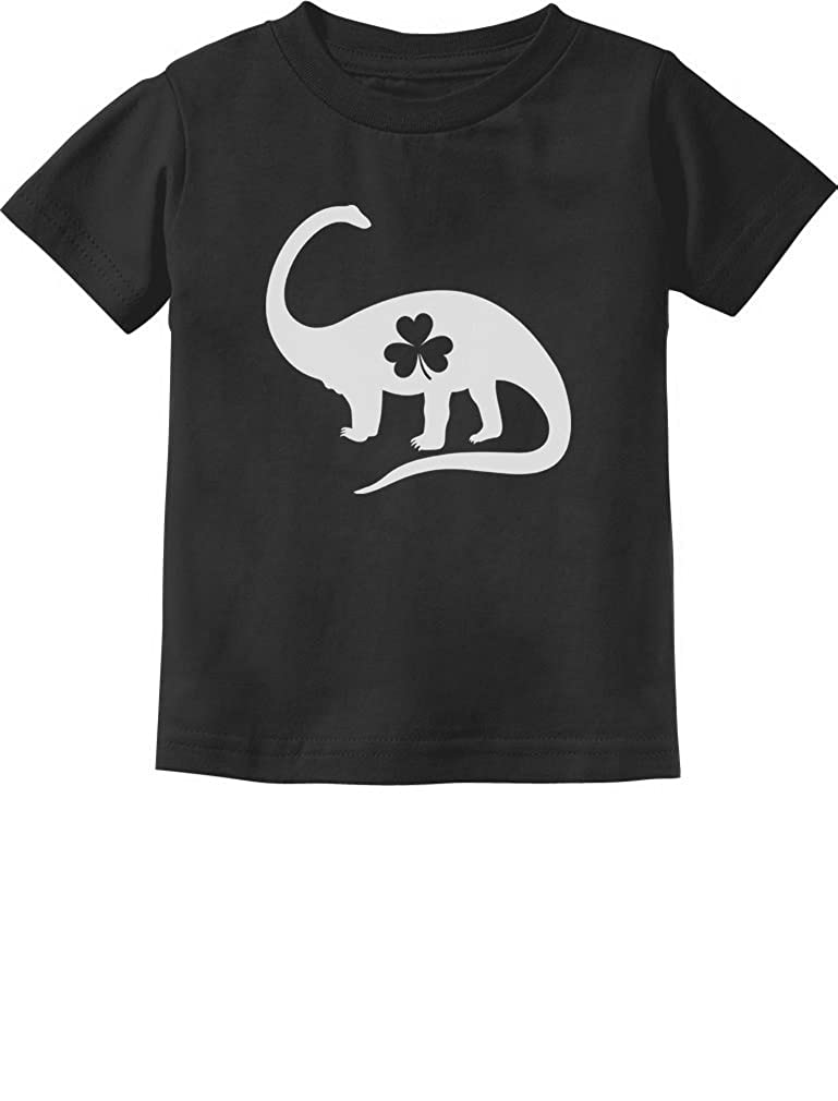 Irish Dinosaur Clover St. Patrick's Day Gift Toddler/Infant Kids T-Shirt GtPt0tagm5
