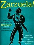 Zarzuela! Baritone Vce/Pf, , 0711981558