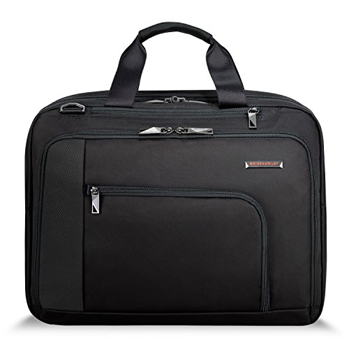 Briggs & Riley Adapt Expandable Briefcase VERB VB201X-4 BLACK