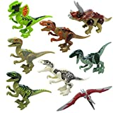Kizaen Children Mini Creative Animal Shape Dinosaur Building Blocks Early Education Toys