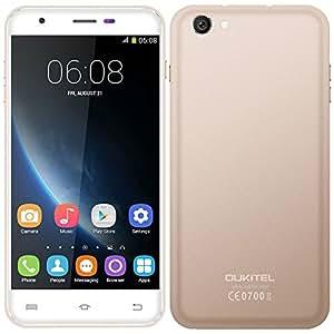 OUKITEL U7 Pro - 3G WCDMA Smartphone (5.5'' MTK6580 Quad Core 1.3GHz 1280 * 720 HD Android 5.1 1GB RAM 8GB ROM 13MP Dual SIM)