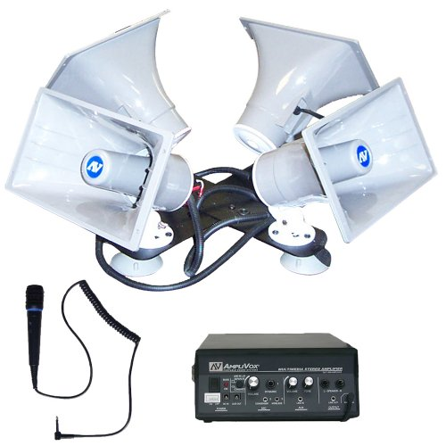 AmpliVox S314 Quad Sound Cruiser Portable PA (Amplivox Portable Sound Systems)