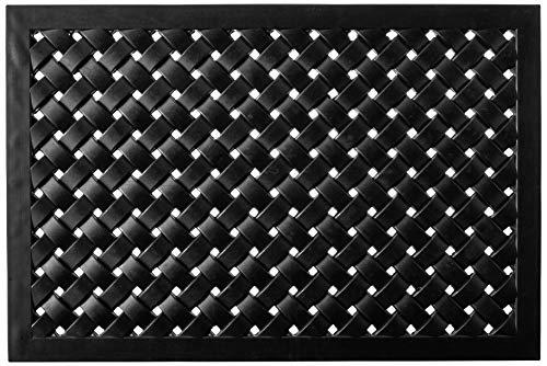 Calloway Mills 900072436 Hampton Weave Rubber Doormat, 24