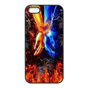 Clzpg Brand Iphone5,Iphone5S Case - Fire diy phone case