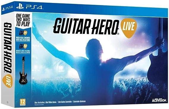 Activision Guitar Hero Live - Juego (PlayStation 4, Música, Guitarra): Amazon.es: Videojuegos