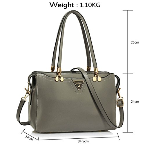 Gratuita Precioso Grab 50 Uk Grey Hombro Gris Delivery Entrega Guardar Uk Bolso Save 50 Shoulder Handbag Gorgeous Free Del Grab ZgwwRz