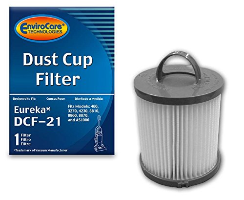 - EnviroCare Replacement HEPA Vacuum Filter for Eureka DCF-21 Uprights