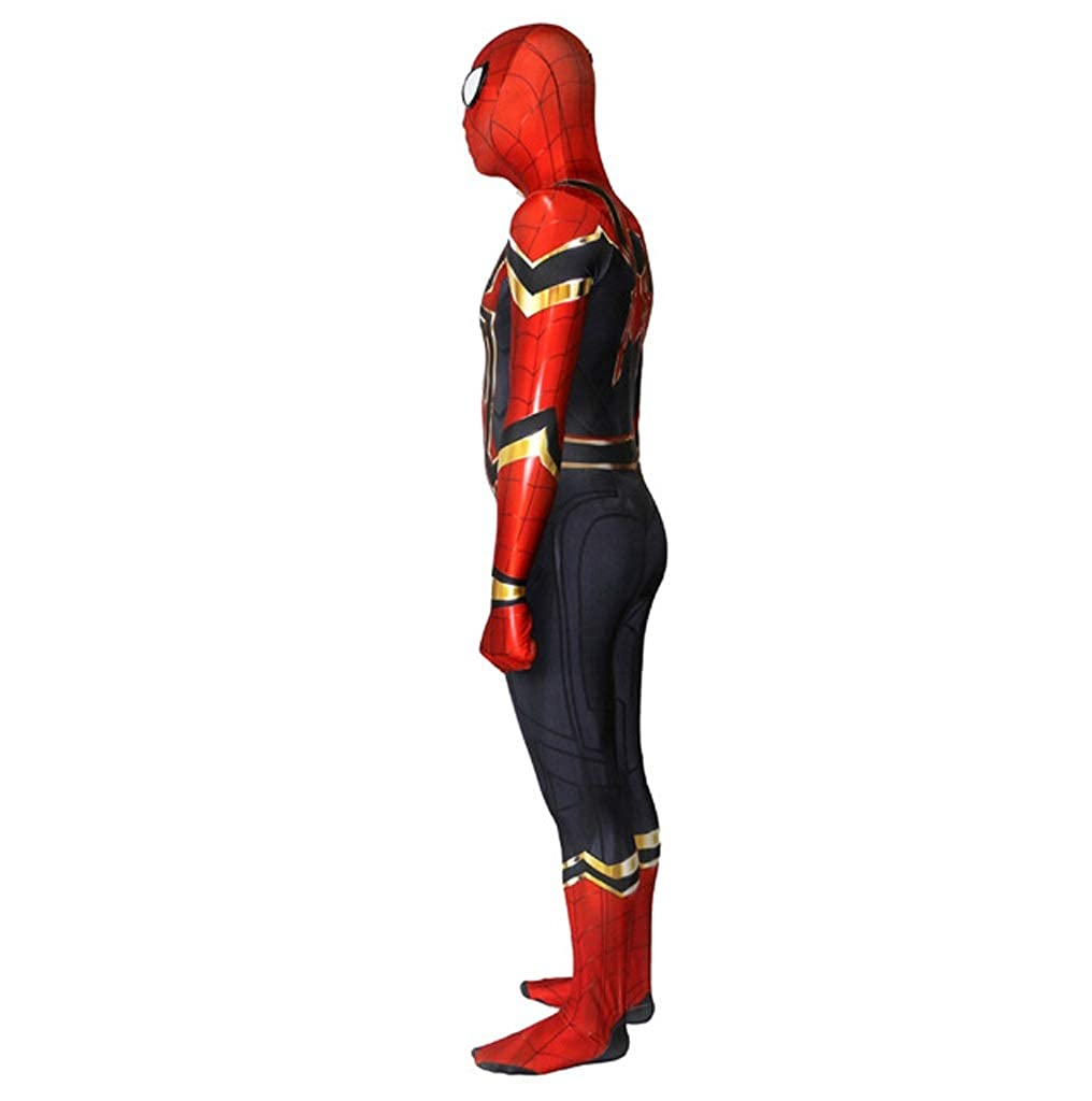 Amazon.com: APPSSS Iron Spider-Man Rehabilitation 3 Cosplay ...