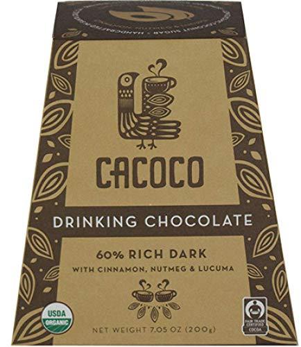 CACOCO 60% Rich Dark Drinking Chocolate (7.05 ounces)