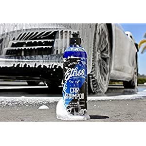 Concentrated Ph Balanced Car Wash Shampoo, High Sudsing Soap, Ultra Slick Foam! Safe For Any Automotive Finish (16oz) - Ethos Car Care