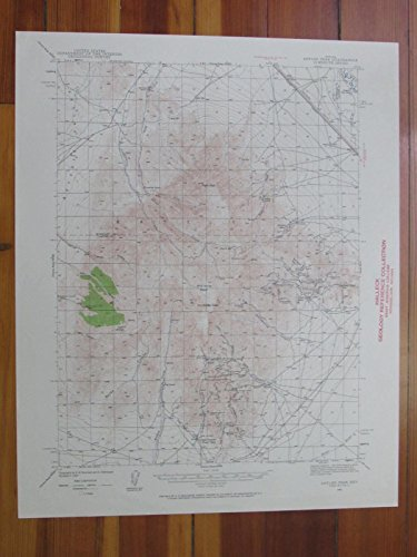 Antler Peak Nevada 1960 Original Vintage USGS Topo Map ()