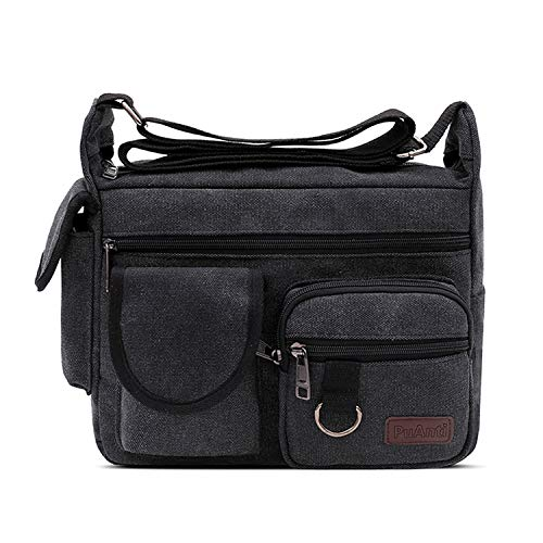 Épaule Bandoulièr Toile Pouces Sac Bag Cartable 9 Messenger Sport Ecole Ipad Briefcase Noir Portés femmes D'épaule Fandare De Sacs Kaki Hommes 7 Travail xfwYqY