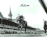 Ron Turcotte 1973 Kentucky Derby Secretariat Signed 11X14 B&W Photo PSA/DNA