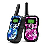 Veroyi Walkie Talkie for Kids, Boys and Girls, 22 Channels 2 Way Radio