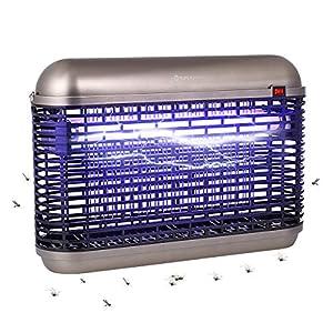 YUNLIGHTS Repellente Lampada Anti-zanzare Interno 20W con Luce UV, Elettrica Trappola per Mosche Insetto, Alto-efficiente Zanzariera Elettrica, MoscheZappe, Zanzare Lampade per Interni ed Esterni 10 spesavip