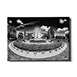 Virginia Tech Hokies ''Burruss Hall Black & White'' Wall Art