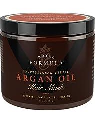 Argan Oil Hair Mask, 100% ORGANIC Argan & Almond Oils...