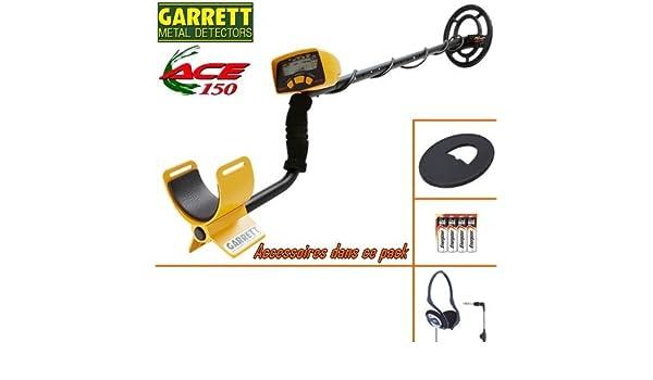 Garrett Ace-Detector De metales 150 incluye un protector Disco-Auriculares De diadema plegable: Amazon.es: Bricolaje y herramientas