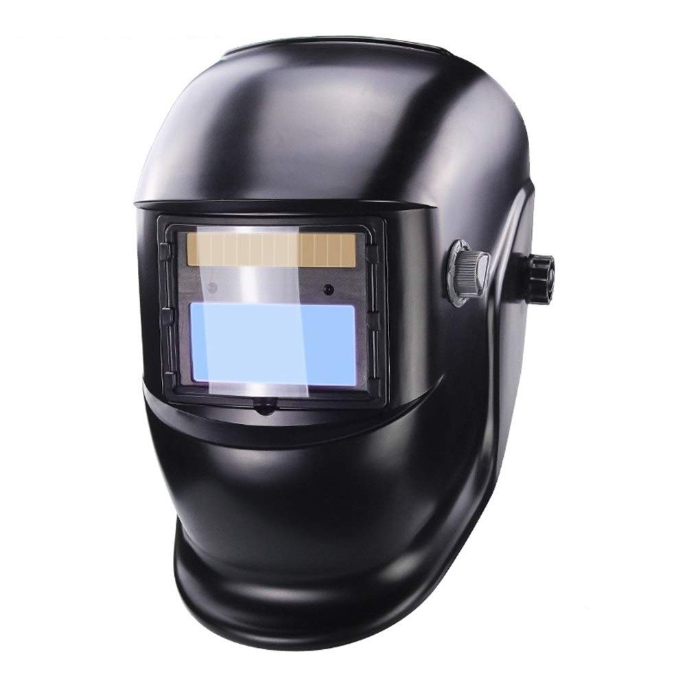YUANYUAN521 Auto Darkening TIG MIG MMA Welding Helmets/Welder Goggles/Mask Eyes Glasses/Goggles for Welding Machine/Accessories (Color : Black) by YUANYUAN521