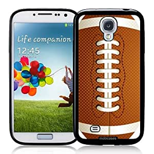 Cool Painting American Football - Protective Designer BLACK Case - Fits Samsung Galaxy S4 i9500